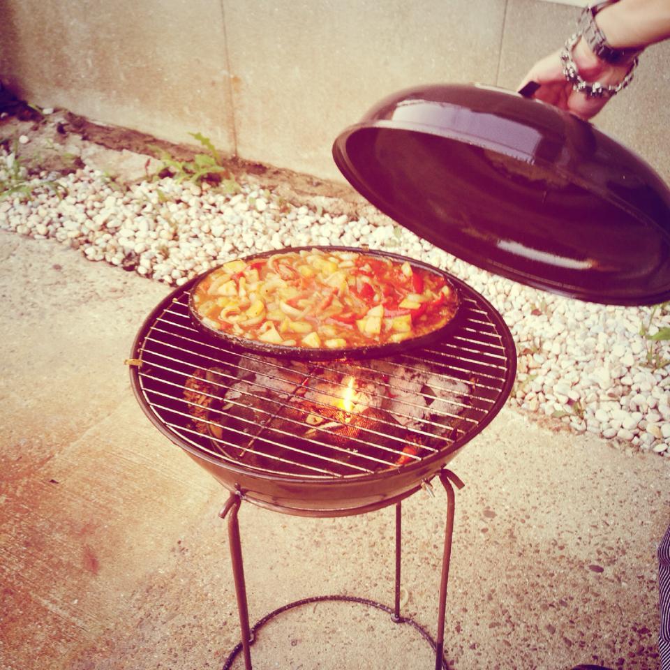BBQグリル スモーク 料理 煮込み