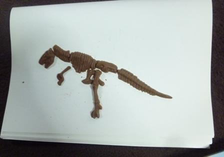 バレンタインチョコ恐竜