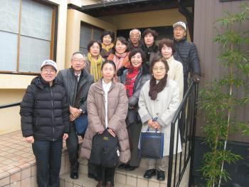 新春昼食会2015.1.28