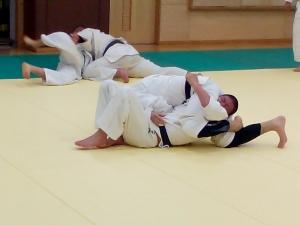 2-12夜間練習寝技2