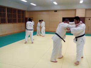 2-12夜間練習柳田先輩