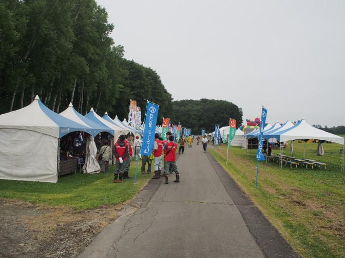 北海道バルーンフェスティバル会場