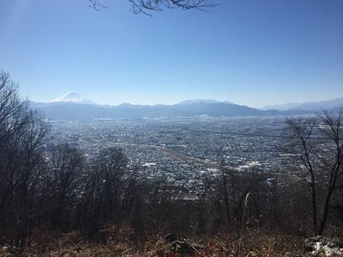 雪の里山4