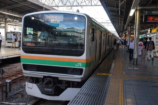 2015-08-11 E231系コツS-01編成 湘南新宿ライン籠原行き