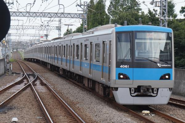 2015-08-11 小田急4061F 快速急行新宿行き