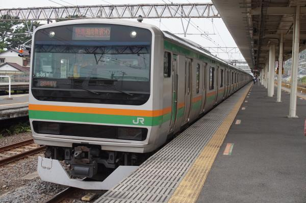 2015-08-12 E231系コツS-05編成 湘南新宿ライン快速籠原行き
