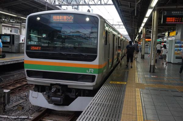 2015-08-12 E231系コツS-05編成 湘南新宿ライン籠原行き