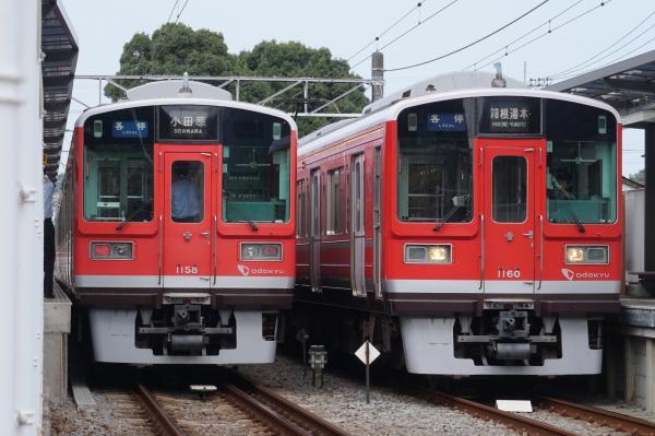 2015-08-12 小田急1058F 1060F