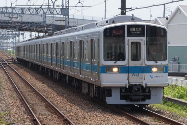 2015-08-12 小田急1752F 急行相模大野行き