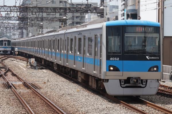 2015-08-12 小田急4052F 急行新宿行き