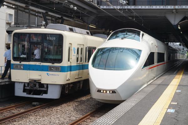 2015-08-12 小田急8259F+8059F ロマンスカーVSE