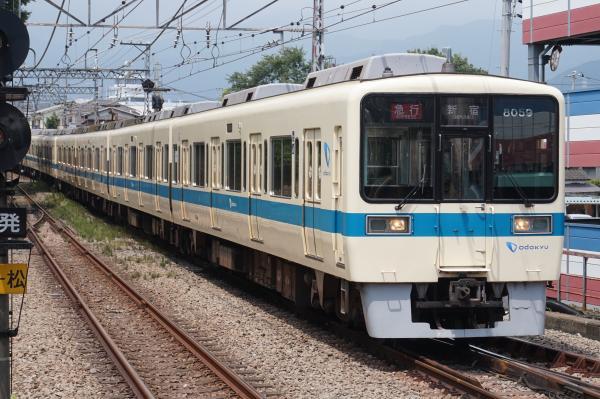 2015-08-12 小田急8259F+8059F 急行新宿行き1