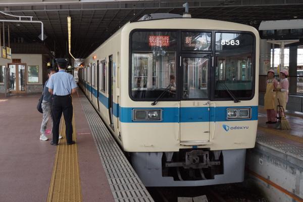 2015-08-12 小田急8263F+8063F 快速急行新宿行き