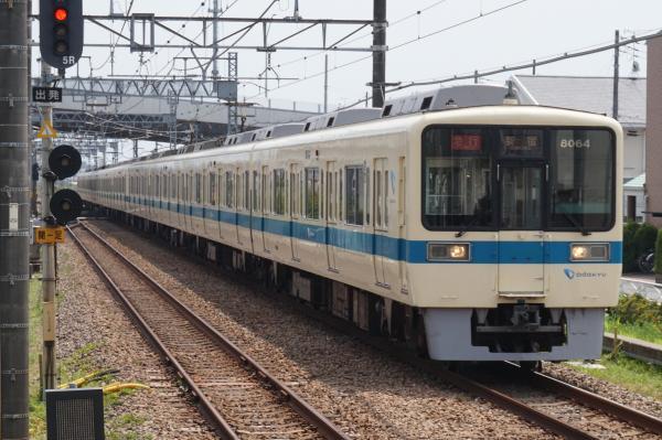 2015-08-12 小田急8264F+8064F 急行新宿行き