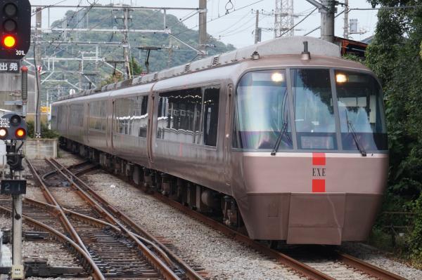 2015-08-12 小田急ロマンスカーEXE 箱根湯本行き2