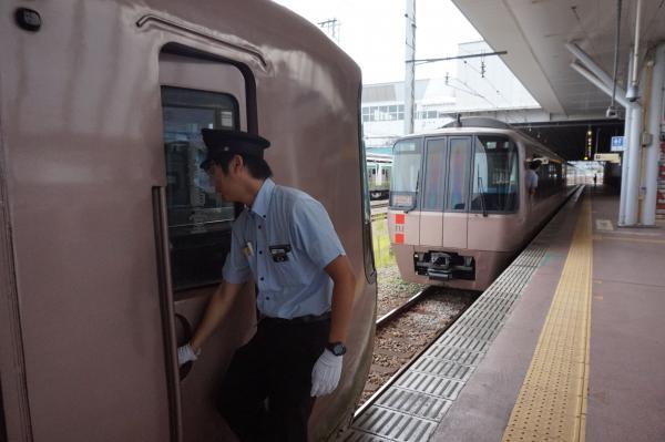2015-08-12 小田急ロマンスカーEXE 分割作業2