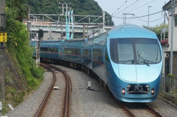 2015-08-12 小田急ロマンスカーMSE 箱根湯本行き