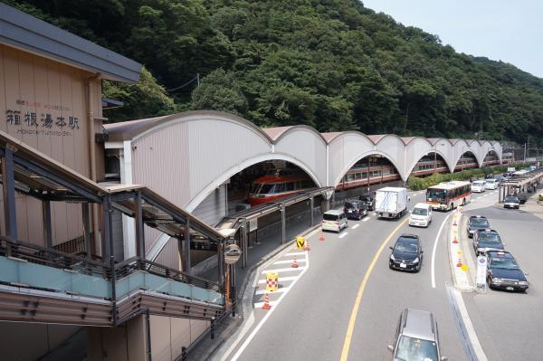 2015-08-12 箱根湯本駅
