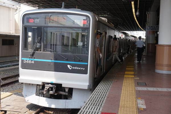 2015-08-12 小田急3264F 各停新松田行き