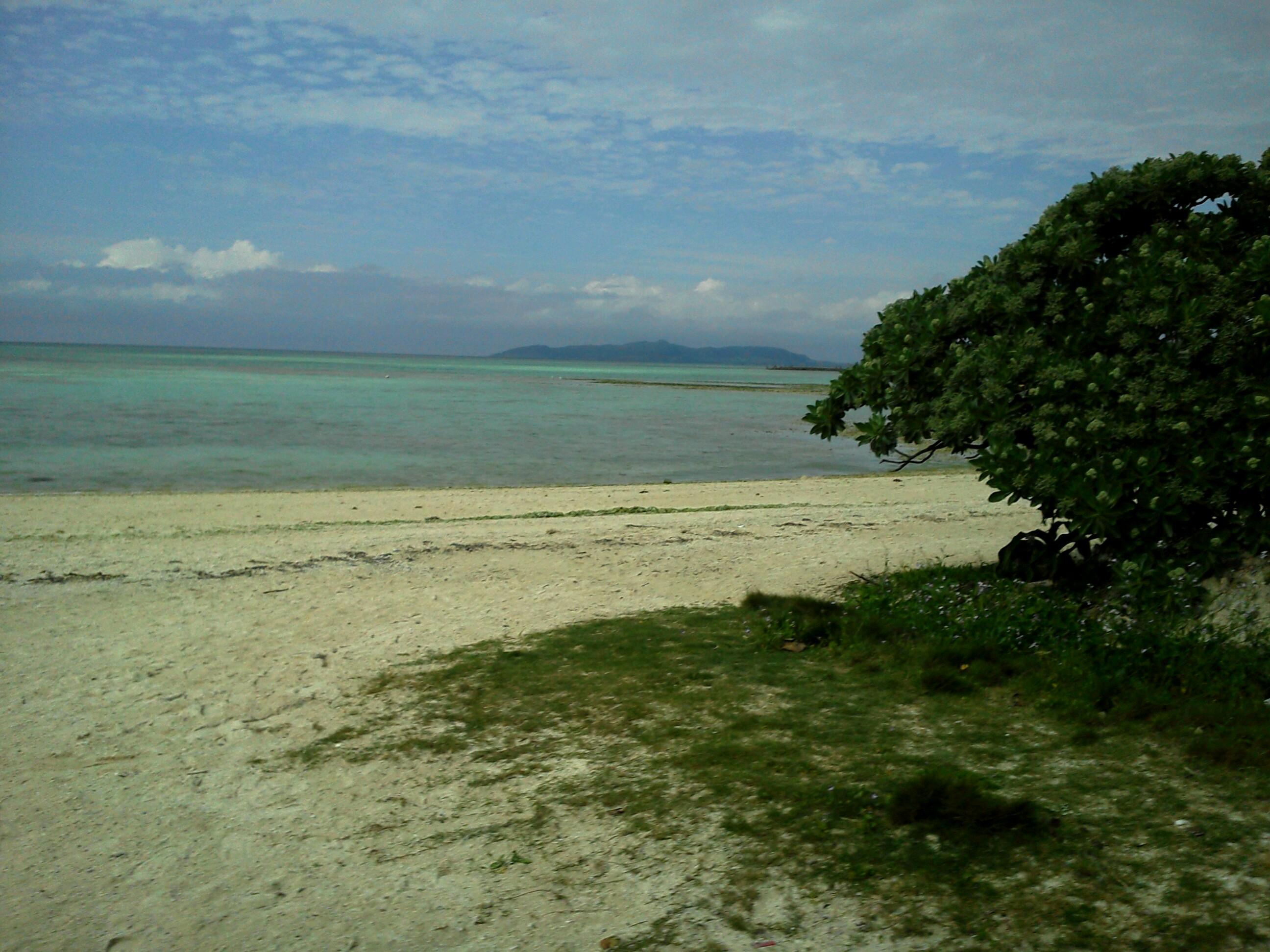 星の砂近くのビーチ