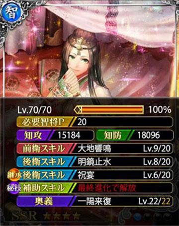 [転輪王姫]三条夫人