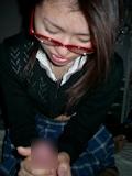 美乳なメガネ美少女 ハメ撮り画像 2