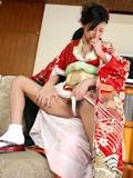 着物の日本美女 ヌード画像 15