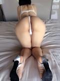 巨乳輪ポッチャリ系人妻ヌード画像 7