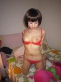 アジア系巨乳人妻 ヌード画像 5