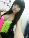 台湾美少女・妞妞(NIUNIU) 自分撮り画像 3