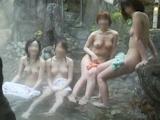 日本素人女性 温泉ヌード画像 30