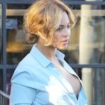Beyonce(ビヨンセ)のノーブラ胸チラ画像