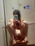 中国素人美少女 自分撮りヌード流出画像 9