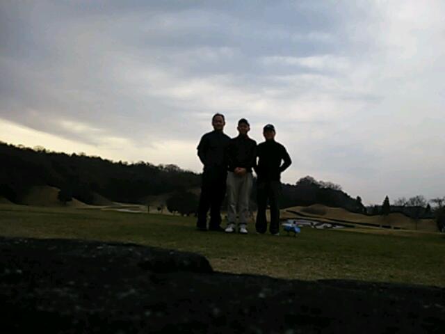 年末ゴルフ