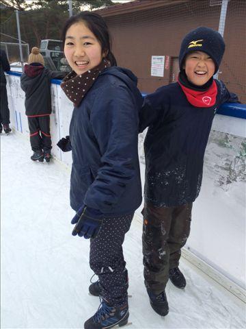初・アイススケート