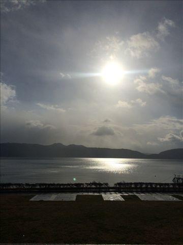 池田湖 初日