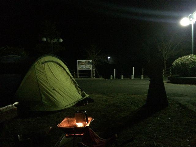 板ヶ原オートキャンプ場 夜