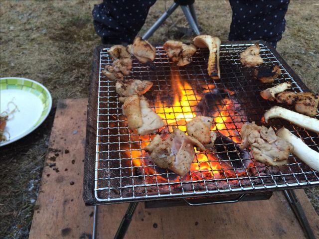 板ヶ原オートキャンプ場 BBQ