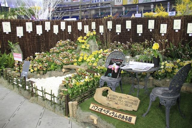 神奈川県立中央農業高等学校 パフィオペディラムのある庭(奨励賞)