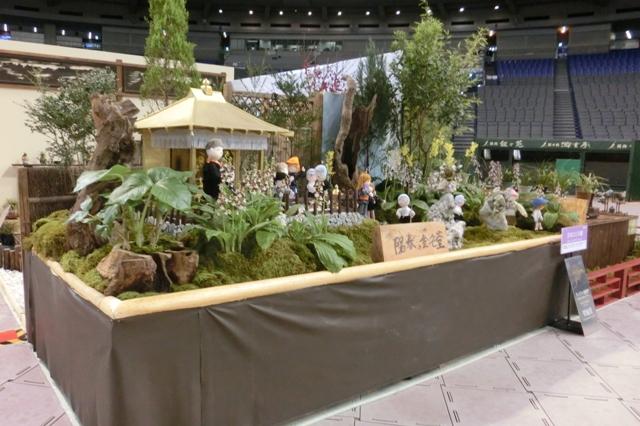 日本エビネ園 陽春の金色堂(奨励賞)