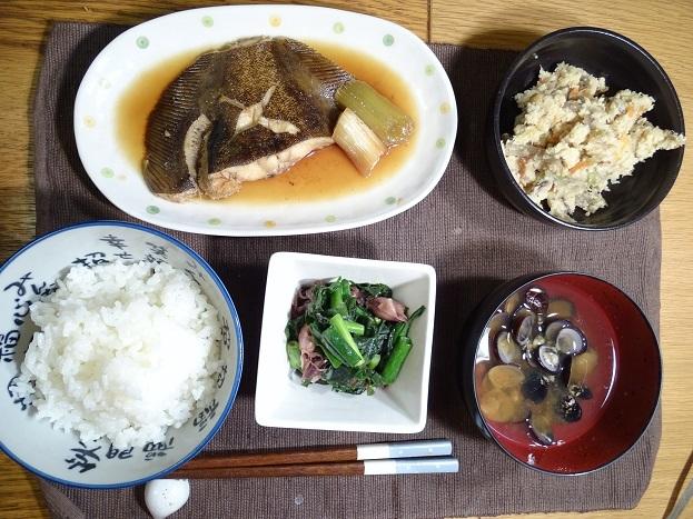 2017-02-28カレイの煮つけ (1)