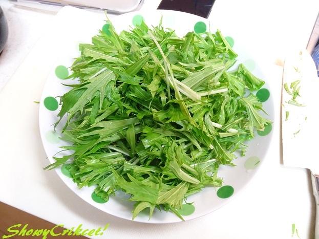 2017-04-28水菜サラダ (1)