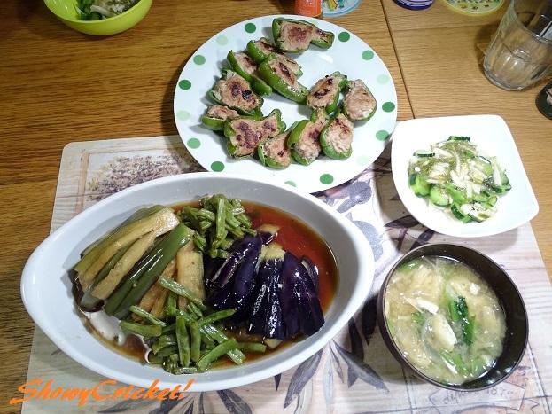 2017-07-31ピーマンの肉詰め (1)