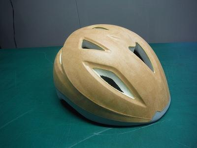 自転車ヘルメット後