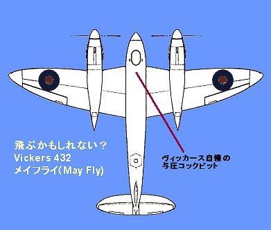 Vickers 432メフライはソフトなイケメン?