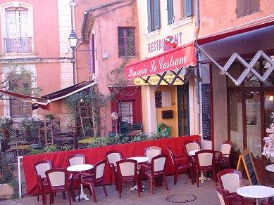 ルシヨン:空気までピンクのカフェdownsize