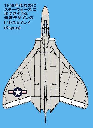 スターウォーズに出てきそうな未来デザインのF3Dスカイレイ