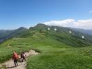 北股岳へ稜線歩き
