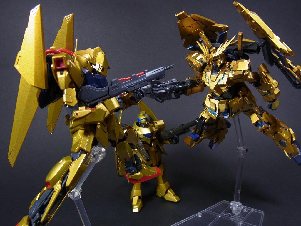 金色の対決