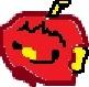 かじりかけたりんご
